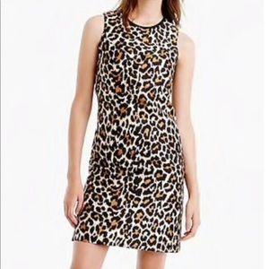 JCrew leopard Aline shift size 2